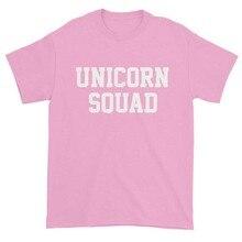 18ec4c96e75 Sugarbaby Unicorn Squad Tumblr T-shirt Unicorn Pink T shirt Women Fashion  Summer T shirt