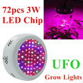 Full Spectrum 216W UFO 72X3W LED Grow Lights 85~265V Hydroponics Plant Lamp Ideal for All Phases of Plant Growth and Flowering