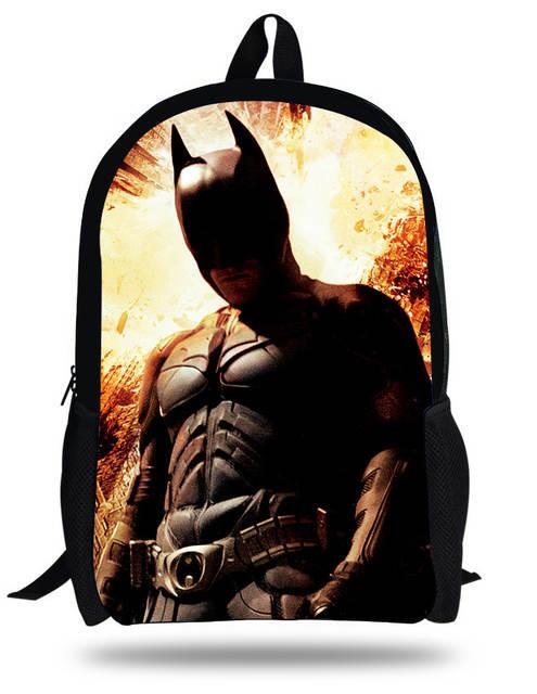 8bc669956d5 placeholder Cool 16-inch Batman Backpack Heroes Superman Bags Children  School Bag Batman Kids Backpacks For