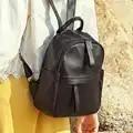 Маленький женский черный рюкзак для путешествий милые дизайнерские рюкзаки женские высококачественные школьные сумки для девочек подрост...