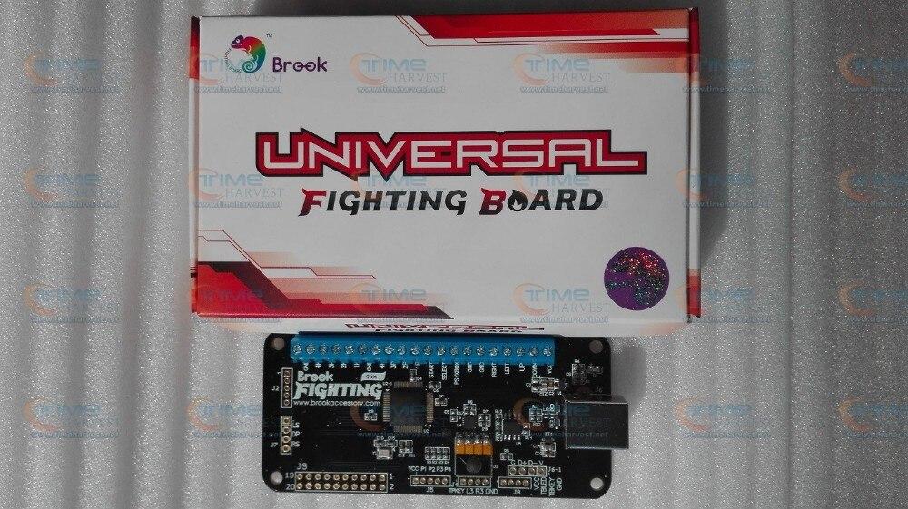 USB адаптер кодового датчика 4 в 1 Брук универсальная Боевая плата PCB поддерживает Xbox One, Xbox 360, PS4, PS3, wii U, PC& Switch