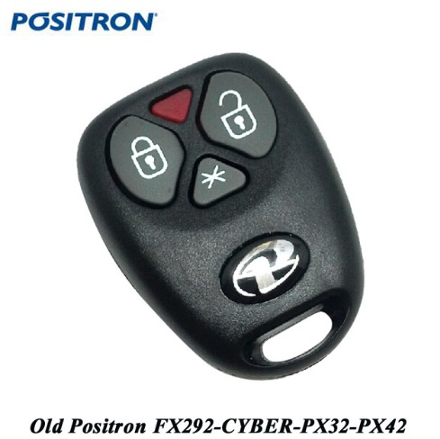 Replace Remote Key For Positron Car Alarm System  With HCS300 Chip Rolling Code Frequency 433.92mhz
