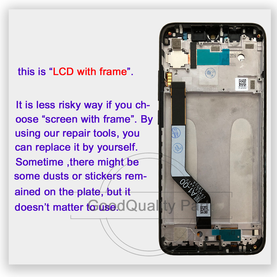 """Image 3 - 100% test for Xiaomi Redmi Note 7 Pro LCD Display Screen Touch Digitizer Snapdragon 660 Assembly 6.3""""for Redmi Note7 LCD Display-in Mobile Phone LCD Screens from Cellphones & Telecommunications"""