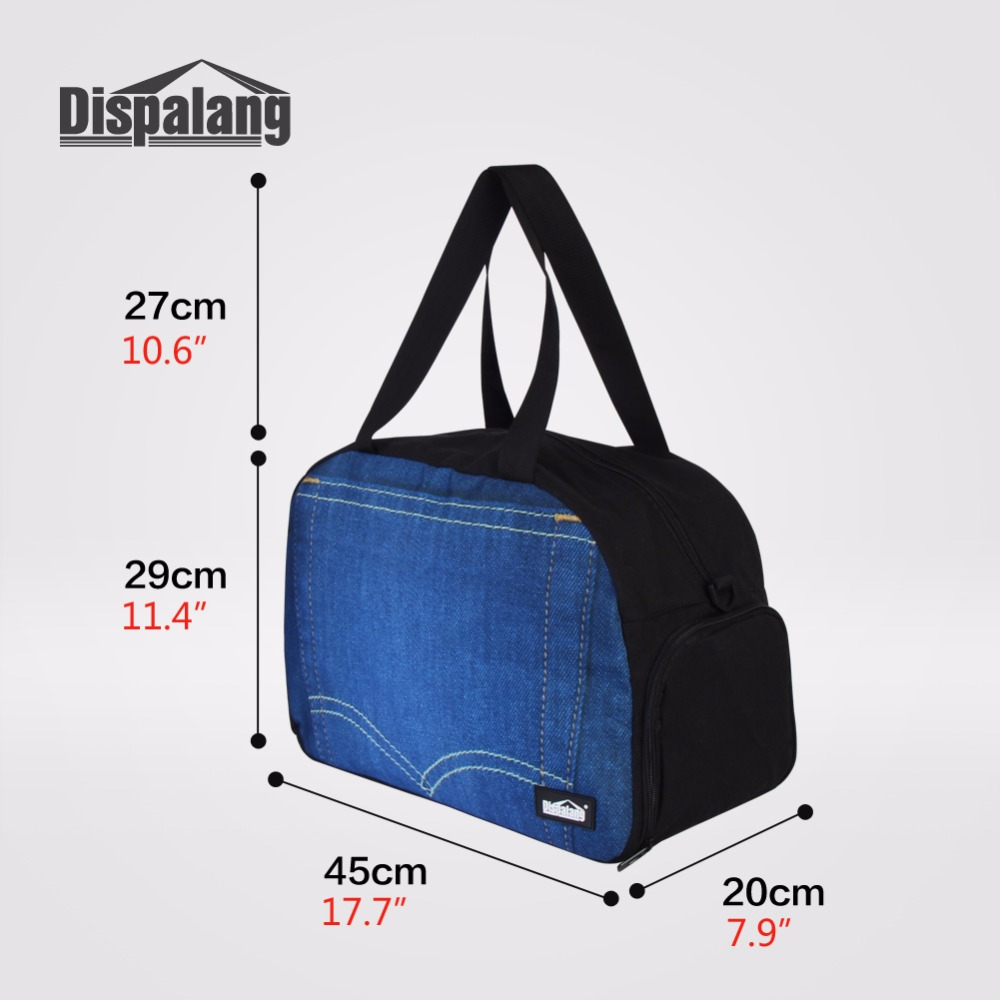 9cf597527d77 Dispalang Cartoon Travel Luggage Bag Portable Travel Bag Large Capacity  Carry On Weekender Bag Foldable Travelling Duffle Bags-in Travel Bags from  Luggage ...