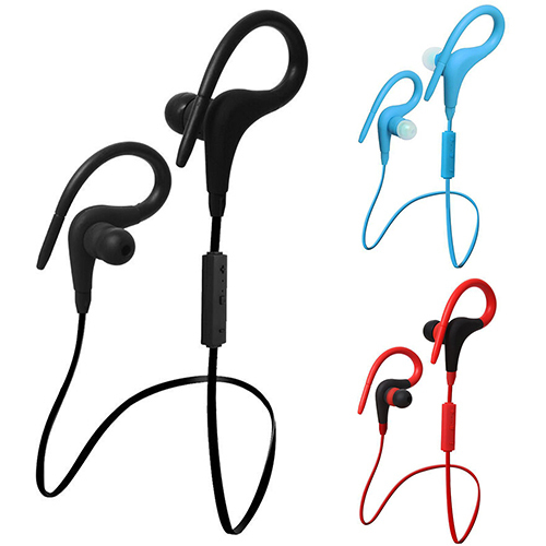 Bluetooth 4.1 Stereo Wireless Handfree Headset Sport Earphone for Samsung iPhone