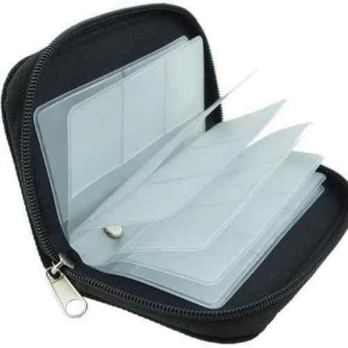 1 piezas portátil tarjeta de memoria de almacenamiento de bolsa caso titular de la cartera SD SDHC MMC Micro SD bolsas contenedor organizador