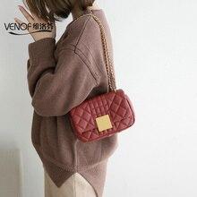Women Genuine Leather Bag Sheepskin mini Messenger Bag Handbag Women Famous Brand Designer Female chain Handbag Shoulder Bag Sac