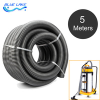 Industrial Vacuum Cleaner Thread Hose Pipe Tube Inner 50mm 5M Long Water Absorption Machine Straws Durable