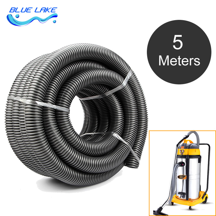 Industrial vacuum cleaner thread Hose/pipe/tube,inner 50mm,5M long,water absorption machine,straws,durable ,vacuum cleaner parts industrial vacuum cleaner parts black pipe eva hose 38mm 45mm genenal hose