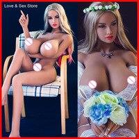 Взрослые Товары для мужчин японский настоящий силикон 156 см оральный секс товары Любовь продукты гладкая кожа супер большая грудь Реалисти