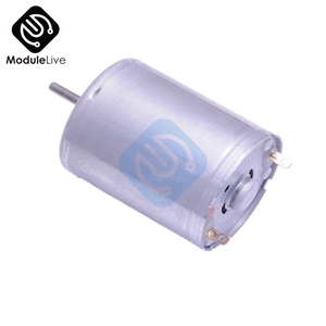 DC 3-12V 24 MM Hobby Motor Type 370 Micro Motor Model Low Speed High Torque For Toy Car(China)
