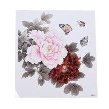 Гламурные цветы водонепроницаемые тату-наклейки влагостойкие прочные благородные элегантные горячие продажи тату Цветок на руку татуировки наклейки