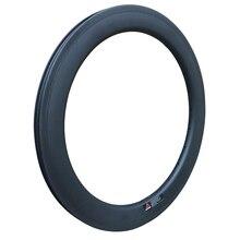 "Silverock Carbon 20"" 451 Rims Mini Velo Rim For Folding Bike BMX Recumbent Bicycle 20H 24H 28H 50mm Width Clincher Rims"