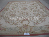 Free shipping 12'x16' European Style French aubusson carpets abusson hand weave carpets for home deocation