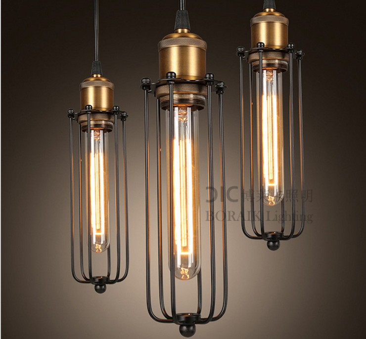 Loft Vintage Industrial Retro Pendant Lamp Edison Light E27 Holder Iron Restaurant Bar Counter Attic Bookstore Lamp new style vintage e27 pendant lights industrial retro pendant lamps dining room lamp restaurant bar counter attic lighting