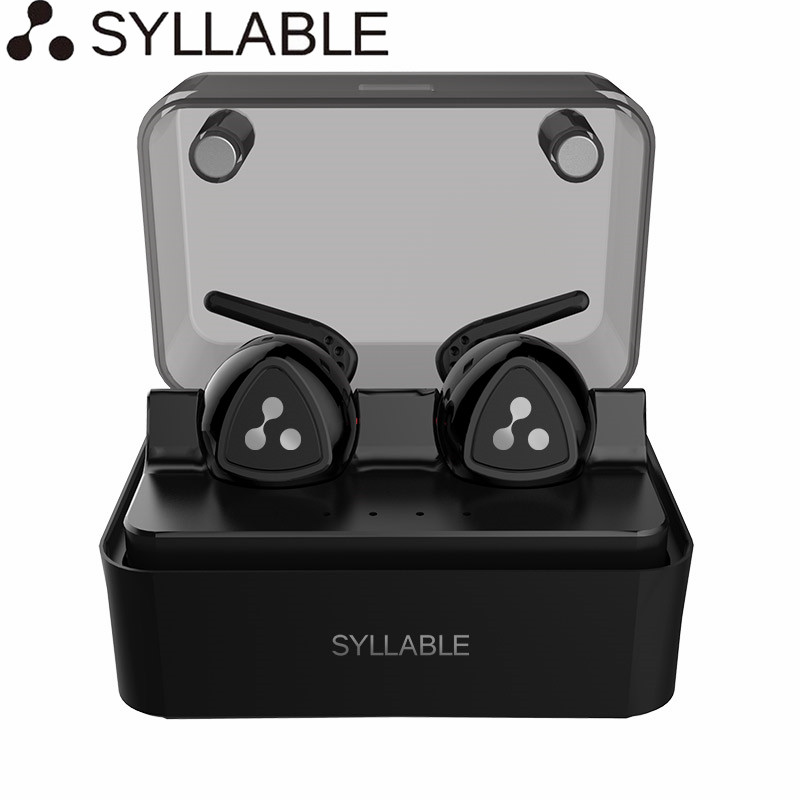 Original Syllable D900MINI Bluetooth 4 1 Earphone Wireless Stereo Headset Handsfree Earbuds with Mic for iPhone