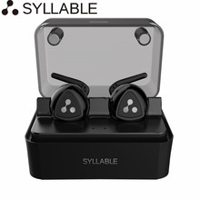 Original Syllable D900MINI Bluetooth 4.1 Earphone Wireless Stereo Headset Handsfree Earbuds with Mic for iPhone Xiaomi & More