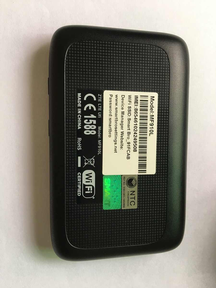 ZTE MF910 Wifi Router mini 3G 4G Lte Draadloze Draagbare Pocket wi-fi Mobiele Met Sim card slot MF910L
