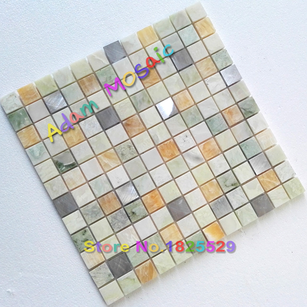 Online kopen wholesale tegel stone mozaïeken uit china tegel ...