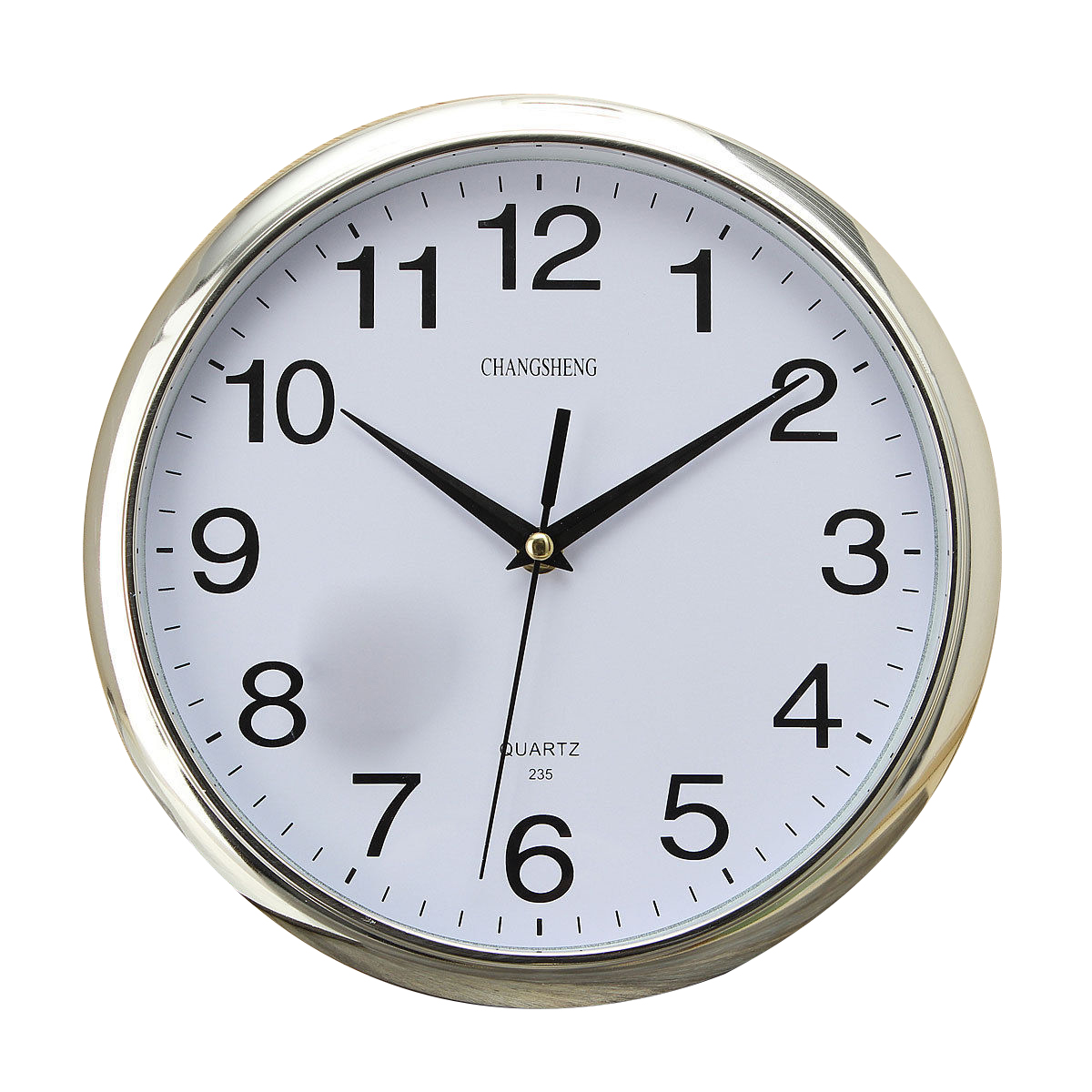 Best Large Vintage Round Modern Home Bedroom Retro Time Kitchen Wall Clock Quartz Sliver In Wall