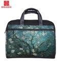 """Продажа фабрики настройки хлопок холст женщины сумку для ноутбука 13 """"15"""" 17 """"ноутбук сумка для macbook/hp/acer/lenovo и др."""