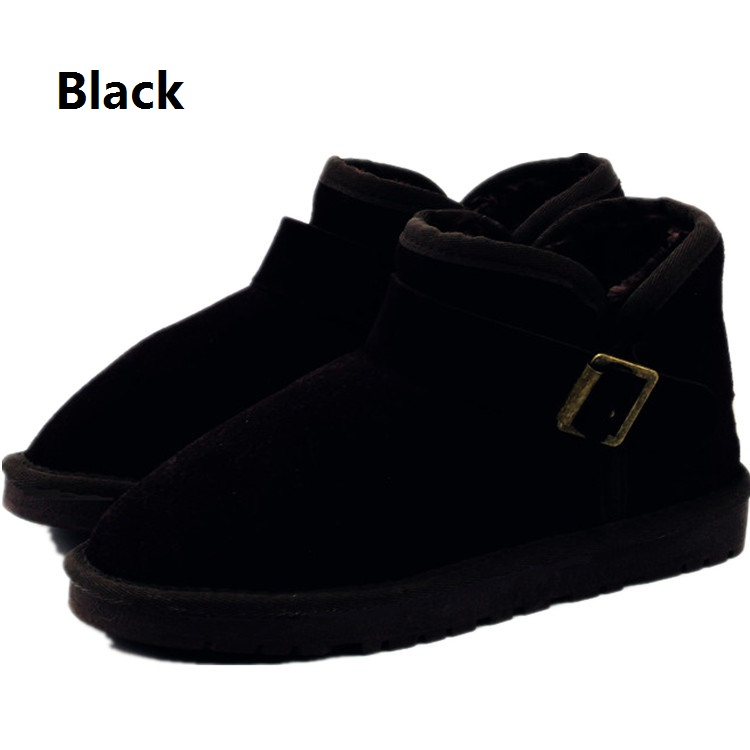 hot Australia Winter lady Snow boots Fur Mujer Botas Waterproof UG genuine Cowhide Snow Boots ankle Leather Shoes for Women