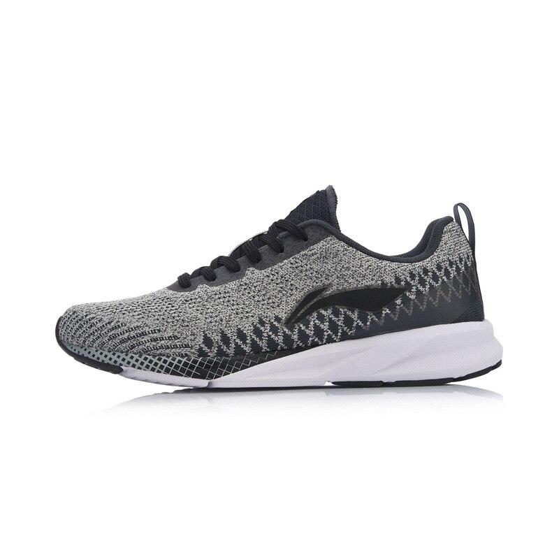 Li-ning hommes couleur ZONE coussin chaussures de course respirant Mono fil doublure poids léger chaussures de Sport baskets ARHN101 XYP720 - 5