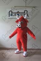 Мультфильм Red Bull талисмана eva глава высокого качества скота костюмы