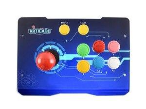 Image 2 - Waveshare Arcade C 1P Arcade Console Raspberry Pi 3B + controller Supporta RetroPie KODI HDMI/USB/Ethernet 1080P Risoluzione