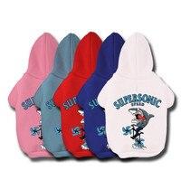 كلب الملابس الدافئة هوديس جرو معطف سترات معطف الزي ل كلب صغير كبير دافئ لينة الحيوانات البلوز الملابس