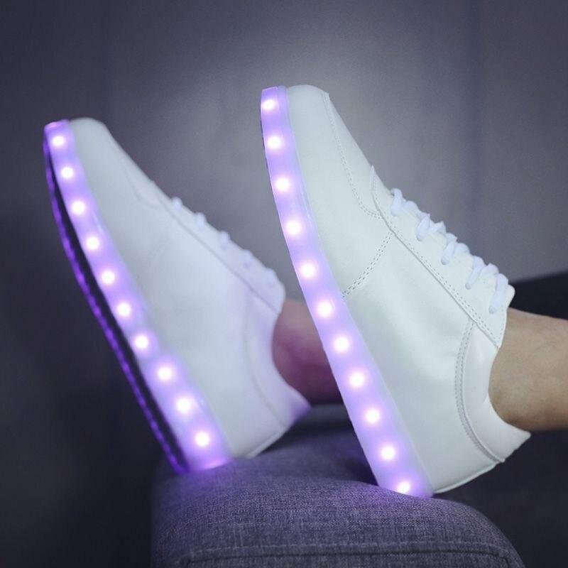 Led Luminosos Hombres Unisex Zapatos de Aislamiento Nuevo Cómodo Brillante Luz L