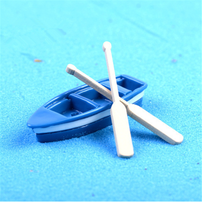 Wooden Fishing Boat Model Decorative Nautical Gifts Decoration Handicrafts