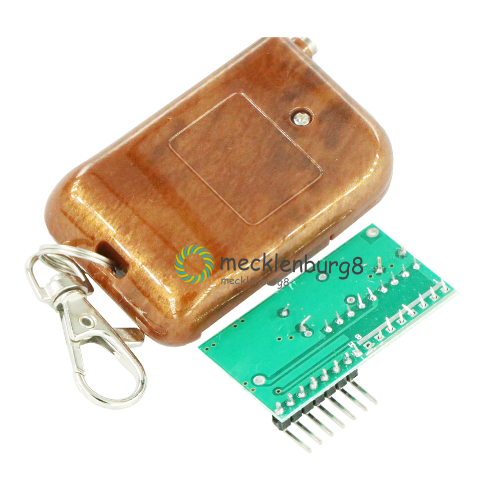 1Set IC 2262/2272 Four Ways 4 CH <font><b>Key</b></font> Wireless <font><b>Remote</b></font> Control Kit 315Mhz ASK Decoding <font><b>Receiver</b></font> Board <font><b>Module</b></font> For Arduino 5V/12V image