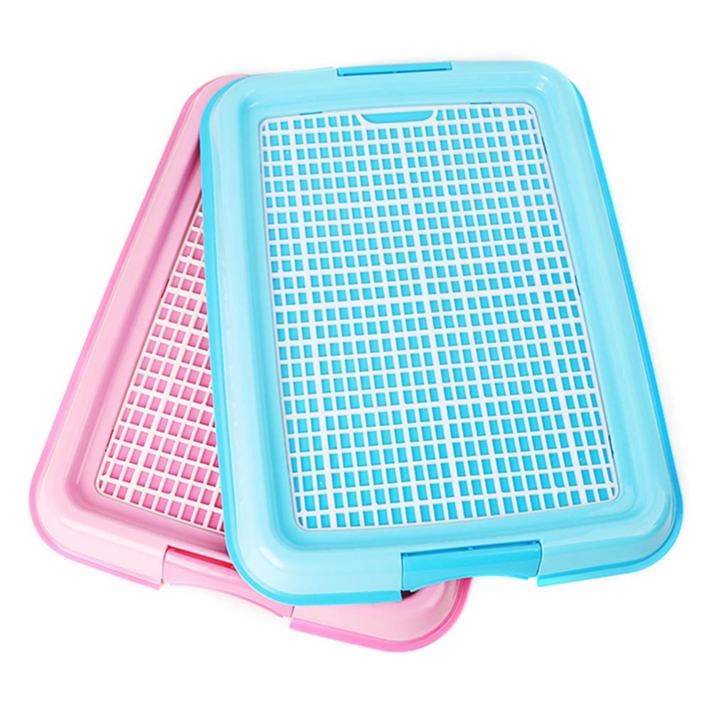 Mesh Dog Toilet Pad Tray Dog Lattice Potty Puppy Pee Training Toilet Cat Mat Pet Product For Dog Pet Supplies Dogs Accessories