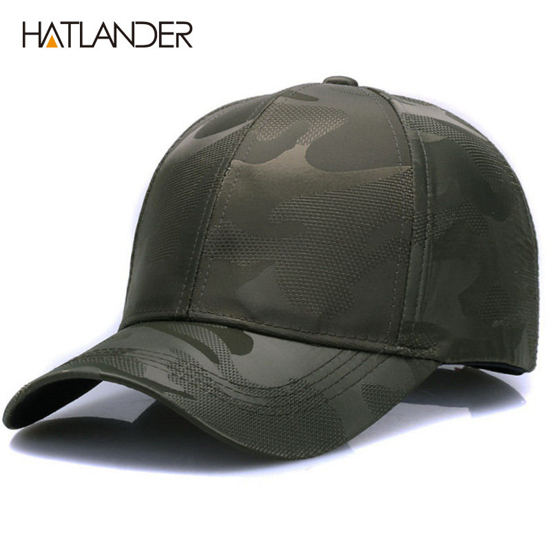 [HATLANDER]Lightweight Breathable solid   baseball     caps   outdoor sports hats gorras curved Airy mesh sun hat for men women