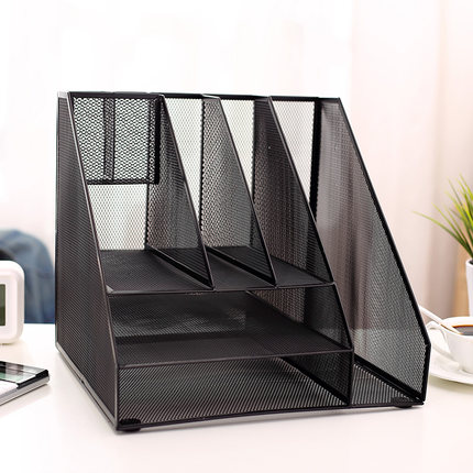 black organizer drawer desk officemate inches recycled expandable pql tray ac oic dp