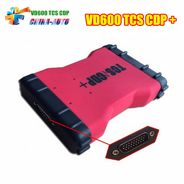 Professional 2016r1 VCI VD600 Led 3 IN 1 Scanner Newest Version 2015r3 With keygen  For Car Truck
