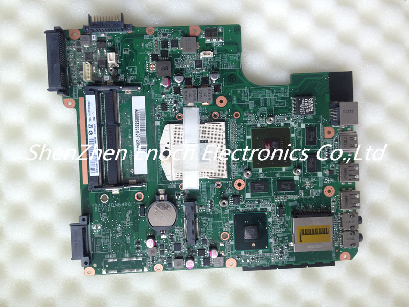 A000093200 for Toshiba satellite L740 L745 laptop motherboard HM55 with graphics DATE4DMB8D0REV:D