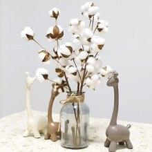 Fleurs artificielles en coton séchées naturellement, remplissage Floral, pour décorer la maison, pour une chambre à coucher