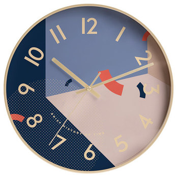 Creative Fashion Art Wall Clock Modern Simple Restaurant Bedroom Personality Quiet Electronic Clock