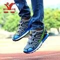 Xiangguan Кроссовки Человек Открытый Кроссовки Спортивная Обувь для человека Плоским Trail Run Бесплатные Пешеходные Обувь Кроссовки Модная Обувь EUR36-44