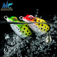 JIADIAONI 8pcs/5pcs Frog Fishing Lure Set Fly Fishing Surface/Floating Artificial Soft Lure Minnow Carp Fishing Accessories