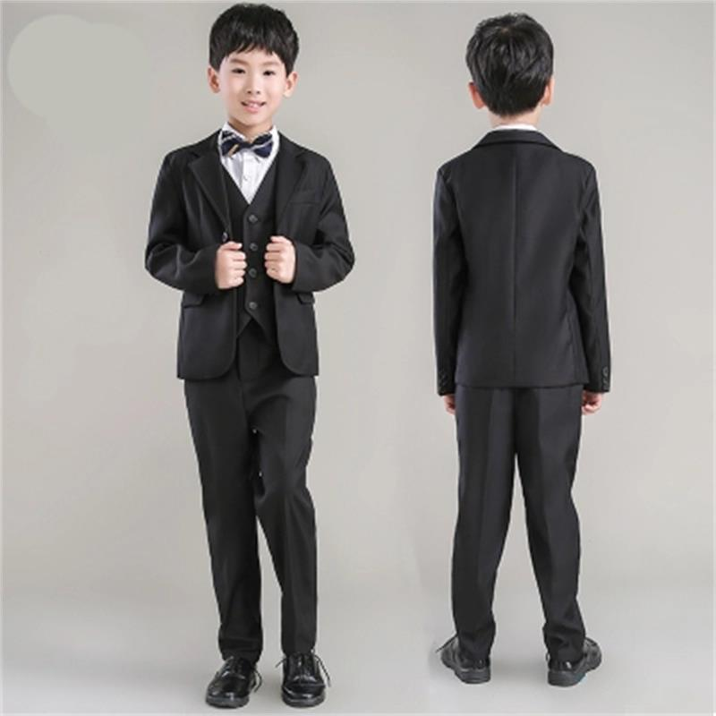 high quality fashion black baby boys suit kids blazers boy suit for weddings prom formal spring autumn wedding dress boy suits hot sale top quality baby boys spring autumn casual blazers jacket wedding suits for boy formal children clothing kids prom suit