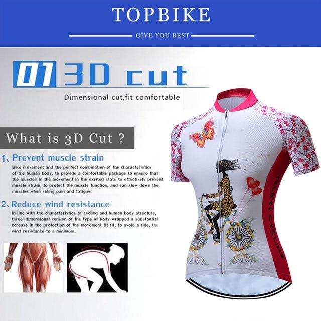 TELEYI venda Verão Mulheres Rosa Ciclismo Roupas de Ciclismo Jerseys/Quick-Dry Bicicleta Desgaste Dos Esportes Terno Dos Esportes 1