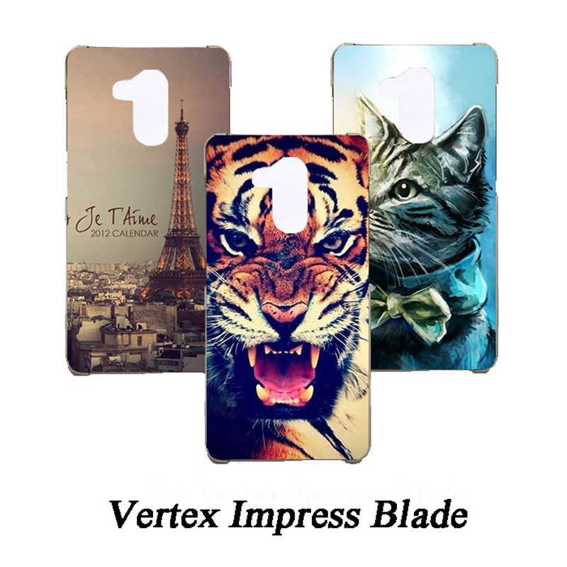 Hoge Kwaliteit Kleurrijke Geschilderd Case Voor Vertex Impress Blade cover TPU Gel Back Protective Telefoon Cover Voor Vertex Impress Blade