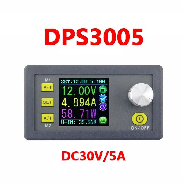 DPS3005 32 В 5А Buck Регулируемый DC Постоянное Напряжение Питания Модуль Интегрированный Вольтметр Амперметр Бесплатная Доставка