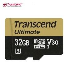 Марка Transcend карта Micro SD 32 ГБ 64 ГБ UHS-I, MLC, TF карты памяти SDHC для DSLR GPS регистраторы r: 95 МБ/с. w: 85 МБ/с.