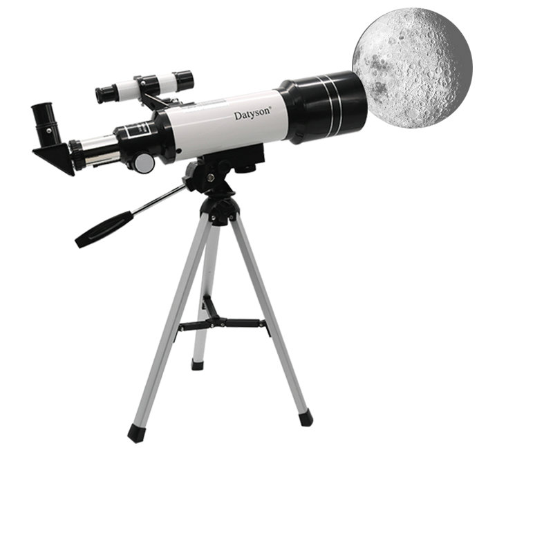 Refractor 70mm Apeture 400mm Terrestrial Monocular Astronomical Telescope with Compact Tripod + USB Digital Electronic Eyepiece f40040m entry level zoom terrestrial astronomical telescope compact tripod outdoor monocular telescope children gift kids toy