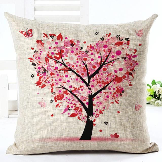 Heart Tree Pillow