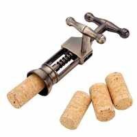 Professionelle Korkenzieher Korkenzieher Tragbare Schraube Korkenzieher Wein Flasche Opener Beste Bar Wein Zubehör und Geschenke
